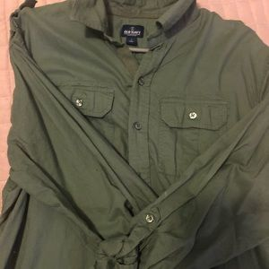 Men's Large Old Navy Casual Button Down